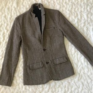 BDG Vintage Oversized Single Breasted Wool Blazer